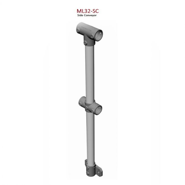 Side Conveyor Stanchion Monowills Link Modular Railing