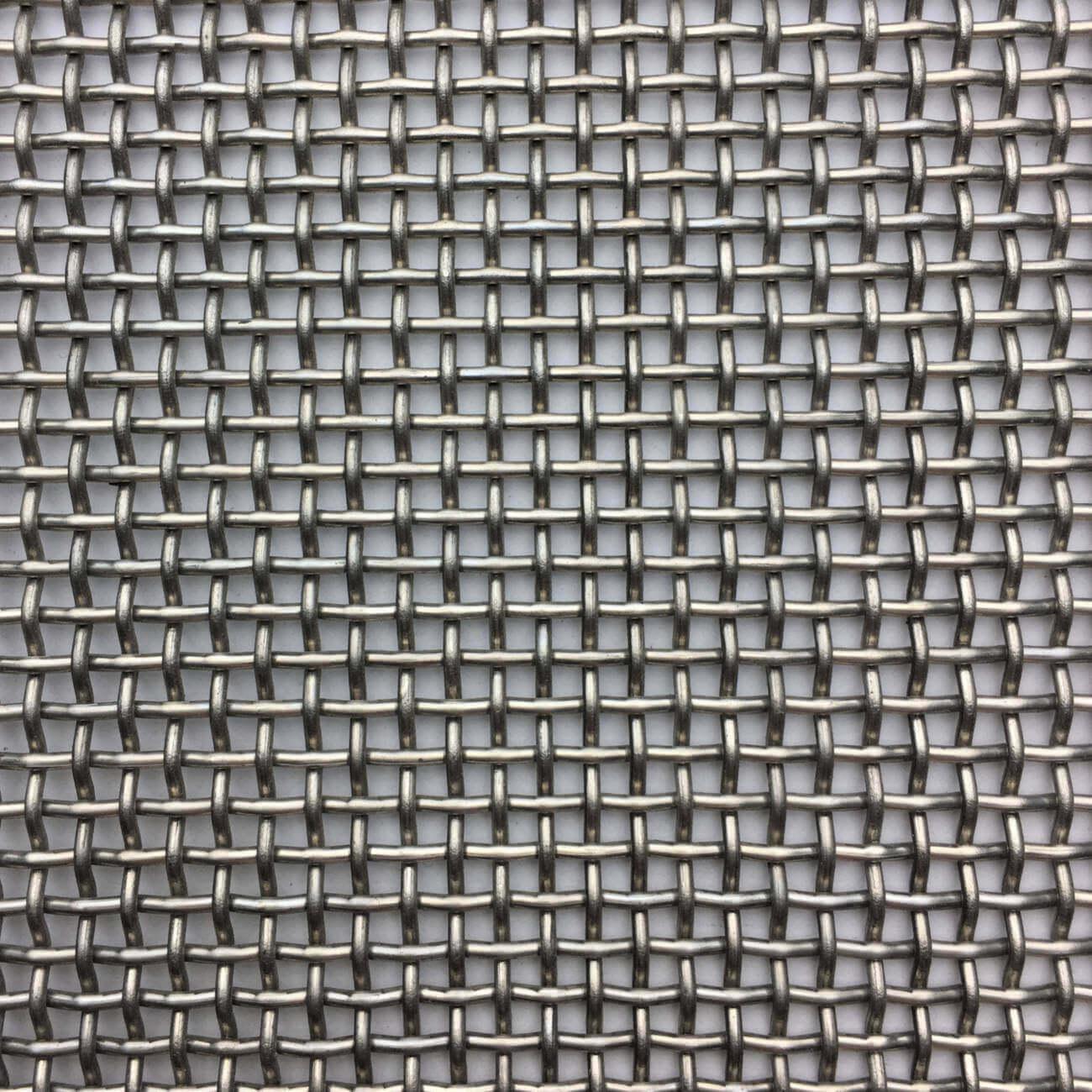 M00818 Fine Woven Wire Mesh Per Metre: 2.08 Openings