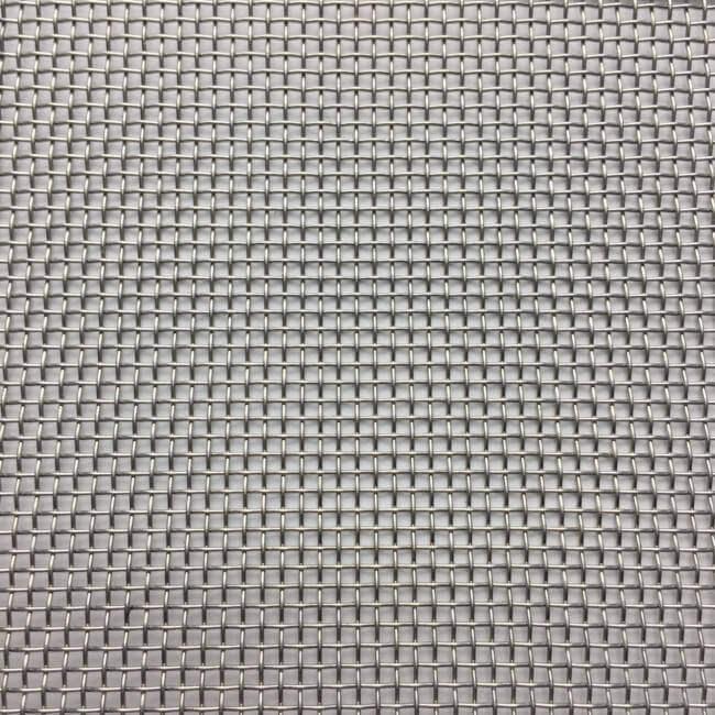 M01224 Fine Woven Wire Mesh Per Metre: 1.55 Openings