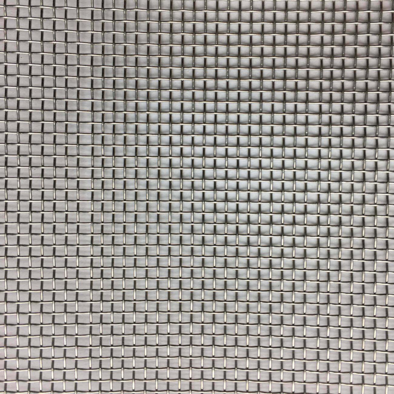 M01628 Fine Woven Wire Mesh Per Metre: 1.2 Openings
