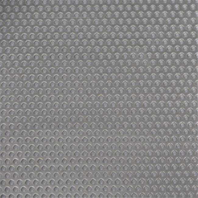 R03231 Perforated Metal Sheet: 3.2mm Round, 31% Open Area