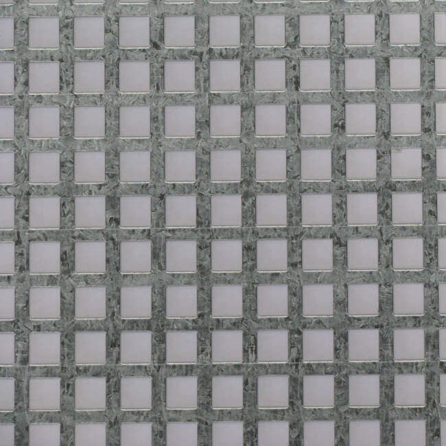 S11047 Perforated Metal Sheet: 11mm Square, 47% Open Area