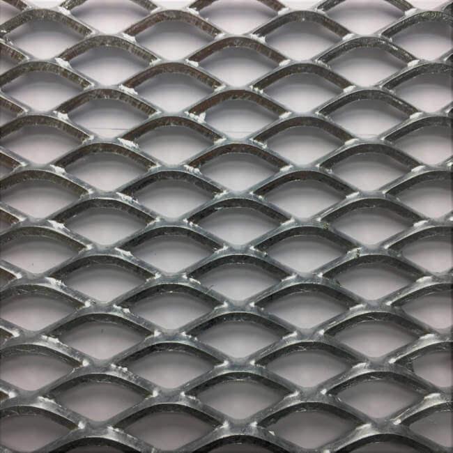 WK2517 Gridwalk Expanded Metal Sheet: 42 x 16mm Openings