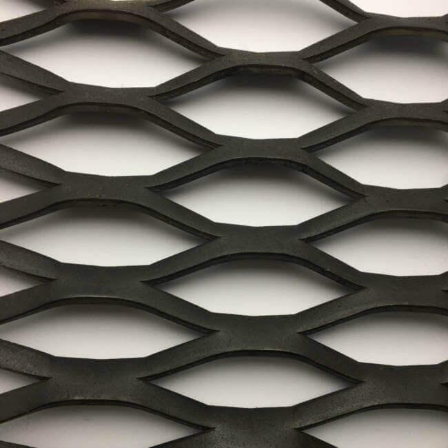 WK4519 Gridwalk Expanded Metal Sheet: 96 x 32mm Openings